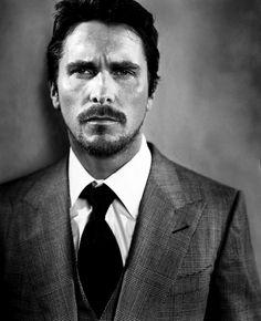 Ravageurs suit up. | Christian Bale by Vincent Peters
