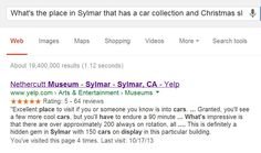 nethercutt museum   My answer is the Nethercutt Museum. Google was able to retrieve this ...