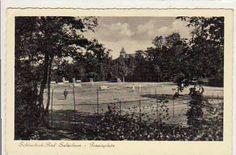 schönebeck elbe  | ... -Falkensee Bad Salzelmen-Schönebeck an der Elbe Tennisplatz ca 1940