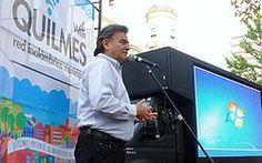 Quilmes: Se inauguró el WIFI gratuito en plazas y espacios públicos