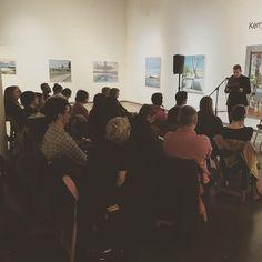 Full house for Poetry Night!