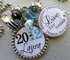 Class of 2012 Graduation PERSONALIZED Name keychain  by buttonit, $22.00