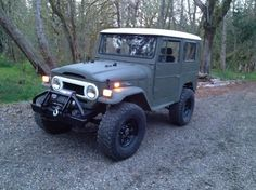 FJ40 - nice and simple, just the way I like it!