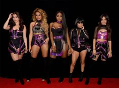 Fifth Harmony backstage at New Year's Rockin' Eve 2017