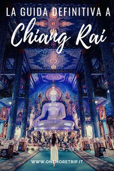 Chiang Rai: cosa vedere tra templi, trekking e triangolo d'oro - One More Trip Chiang Rai, Thailand Beach, Asia, Our World, Trekking, Laos, Beautiful Places, Movie Posters, Travel