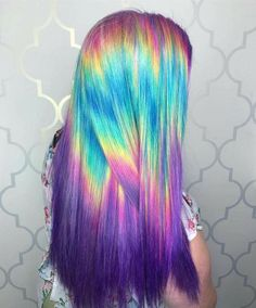 Awesome hair color hair health, colors and styles, 2019 dyed hair, hair Mink Brazilian Hair, Pretty Hair Color, Amazing Hair Color, Coloured Hair, Bright Colored Hair, Gorgeous Hair, Beautiful, Dream Hair, Mermaid Hair