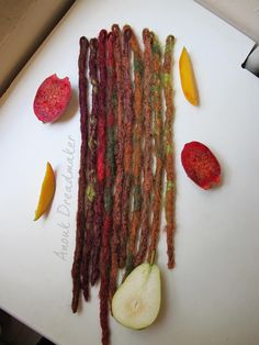 10 single ended synthetic dread extensions by AnoukDreadmaker, zł80.00