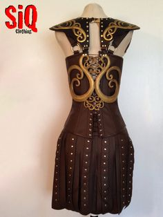 Xena Warrior Princess Costume by SiQclothing on Etsy