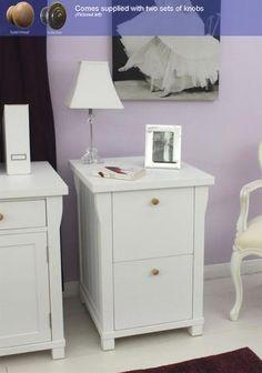 Hampton Filing Cabinet Two Drawer