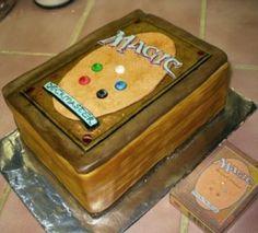 Magic (Card Game) Cake