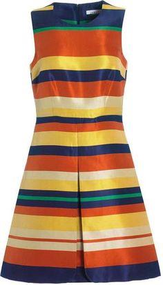 Striped Dress #2dayslook #jamesfaith712 #kelly751 #StripedDress  www.2dayslook.com