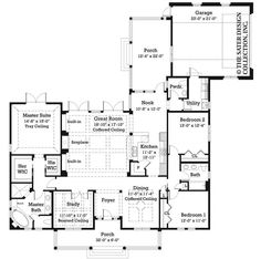 Empty nester house plan ideas on pinterest house plans for Best empty nester house plans
