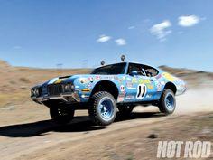 James Garner 'Grabber Olds' 1970 Olds 442 Baja 1000