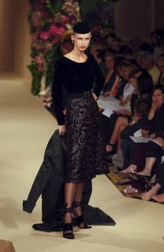 Yves Saint Laurent at Couture Fall 2001 - Livingly