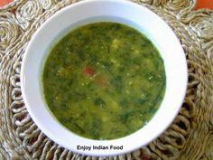 Enjoy Indian Food: Daal Palak - 2