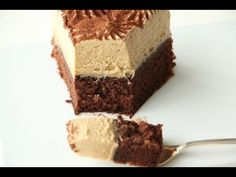 Coffee Mousse Cake recipe - YouTube