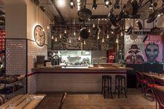 bistro open kitchen - Google Search