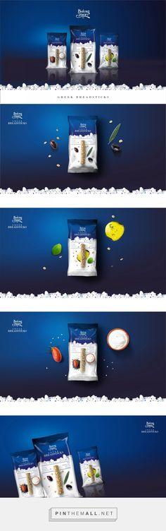 Baking Stories - Greek Breadsticks - Packaging of the World - Creative Package Design Gallery - www. Biscuits Packaging, Pouch Packaging, Bakery Packaging, Types Of Packaging, Cool Packaging, Food Packaging Design, Packaging Design Inspiration, Brand Packaging, Mailer Design