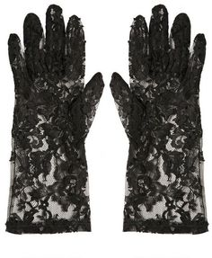 Lace Gloves - D