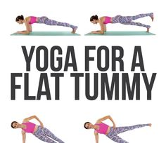 Yoga for a Flat Belly   Yoga for a Flat Belly   Original article and pictures take https://www.skinnymom.com/yoga-for-a-flat-belly-video/ si...