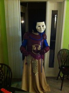 Perhaps you were as scarred by the Mysterious Stranger as I was. Perhaps you are just a fan of creepy things or claymation. Whatever the reason, you want this costume. Well, guess what, no one m…