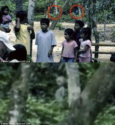 Aliens caught on camera