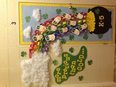 St. Patrick's Day door