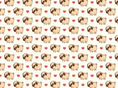 Decorate your computer and phone with some Puglie love!Download desktop and phone wallpapers here!