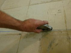 Installing Slate Floor Tiles: Establish Reference Lines
