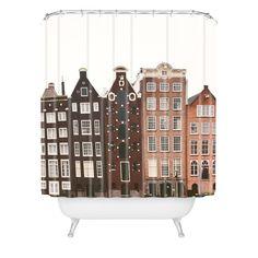 Hello Twiggs Amsterdam Shower Curtain | DENY Designs Home Accessories