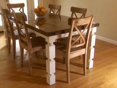 Target carlisle dining chairs and turning an old door into for How to turn an old door into a table