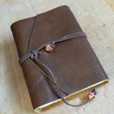 Leather Journal Handmade Diary Blank Notebook by doublejjournals