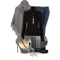 A fashion look from December 2012 featuring RED Valentino sweaters, Ann Harvey and Hudson Jeans jeans. Browse and shop related looks.