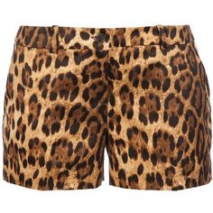 MICHAEL KORS Leopard print short -- wishing I could rock these