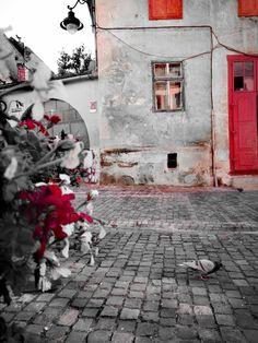 Old city Sibiu ,Romania