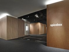 Nendo has completed an innovative office design in Tokyo, Japan for digital marketing firm Spicebox Office Space Design, Workspace Design, Office Interior Design, Interior Design Images, Commercial Interior Design, Commercial Interiors, Corporate Interiors, Office Interiors, Visual Merchandising