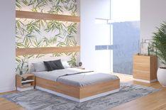 DREWNIANE ŁÓŻKO ZE SKRZYNIĄ VISBY FINN BC #łóżko #łóżka #sypialnia #bedroom #bed #beds #łóżkodrewniane #meblevisby #polskiemeble #polskiproducent #finn Decoration, Bed, Passion, Furniture, Design, Short, Parfait, Home Decor, Nature