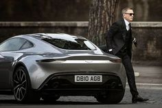 007 reporting for duty...in the new Aston Martin DB10