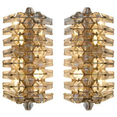 Pair of Elegant Austrian Sconces | From a unique collection of antique and modern wall lights and sconces at http://www.1stdibs.com/furniture/lighting/sconces-wall-lights/