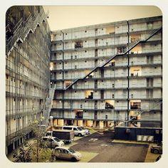 Gifu Kitagata la construcción de viviendas Kazuyo Sejima