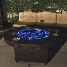 This Multi Ring Burner When Used With The Tsunami Sand Creates A Wave Effect Of Blue Flame For Pool Patio Woodland Direct Diy Gas Fire Pit Materials