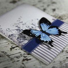 Card butterfly butterflies - Karte schmetterling