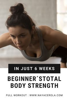 This 6 week routine will hep you gain full body strenght NO EQUIPMENT NEEDED BEGINNERS EXERCISES! exercise/ at home workout /exercise for beginners At Home Workouts For Women, Beginner Workout At Home, Workout For Beginners, Total Body, Full Body, Top Blogs, Stretching Exercises, Strength Workout, Keep Fit