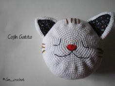 Cojín de animales con la técnica de amigurumi #tejido #amigurumi #crochet #gmcrochet