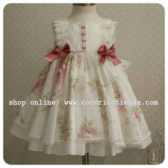 vestidos niña la marquesita real - Buscar con Google Girls Party Dress, Little Dresses, Little Girl Dresses, Cute Dresses, Girls Dresses, Flower Girl Dresses, Toddler Dress, Baby Dress, Pretty Little Girls