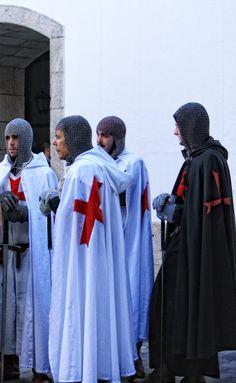 Orden de los Templarios desde el Siglo XII hasta el Siglo XIV. Recreaciones Históricas con temática Orden del Temple.