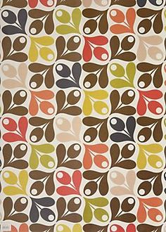 Acorn Wrapping Paper, Orla Keily, double-sided print, Paper Source