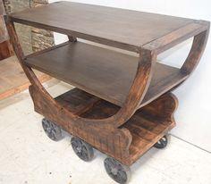 Industrial Trolley. Hospitality Industrial Retro Furniture