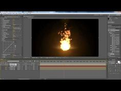 After Effects Tutorial: Particle Fire (No Stock Footage) - YouTube