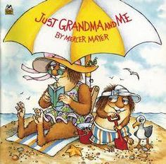 Mercer Mayer's Little Critter and his grandma go to the beach. #kidlit #grandparents